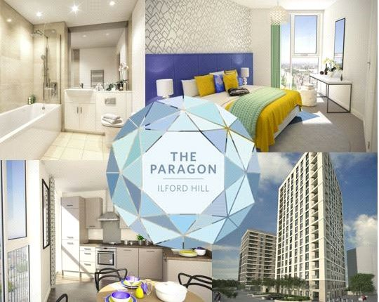 Thumbnail Flat for sale in The Paragon, Ilford Hill