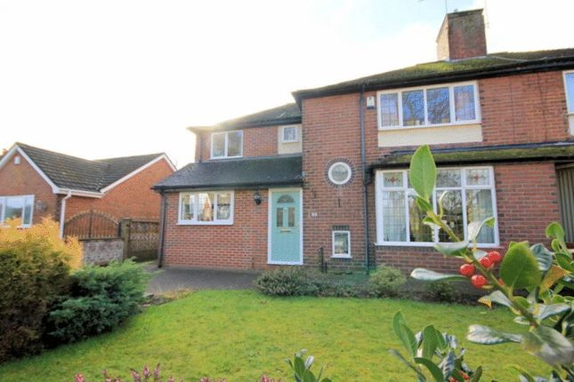 Thumbnail Semi-detached house for sale in St. Anthonys Drive, Newcastle-Under-Lyme