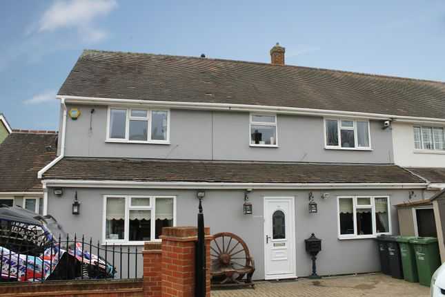 Thumbnail Semi-detached house for sale in Mead Grove, Romford, Essex