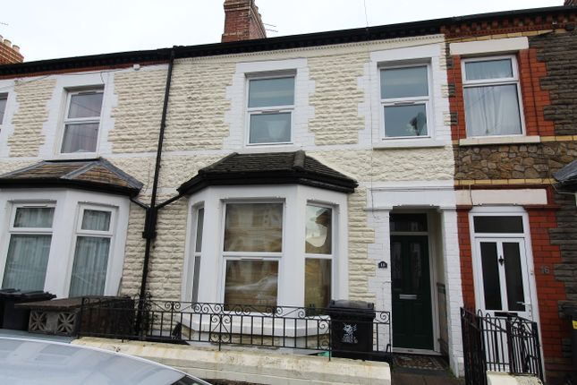 Thumbnail Shared accommodation to rent in Alfred Street, Roath Cardiff