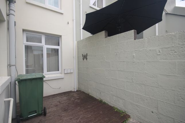 Decking Area of Sturdee Road, Stoke, Plymouth PL2