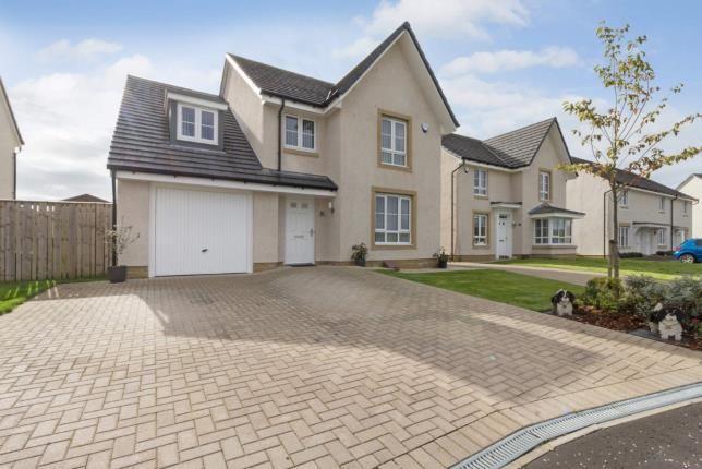Thumbnail Detached house for sale in Kingsbarns Gardens, Westerwood, Cumbernauld, North Lanarkshire