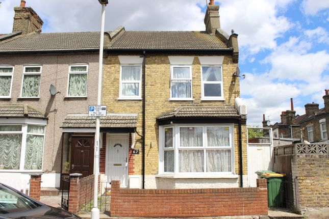 Thumbnail End terrace house for sale in Becket Avenue, East Ham