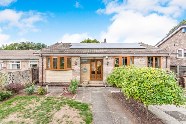 Thumbnail Detached bungalow for sale in Rose Hill Rise, Bessacarr, Doncaster