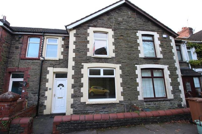 Thumbnail Terraced house to rent in Pencerrig Street, Llanbradach, Caerphilly