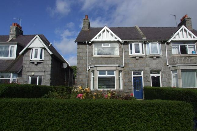Thumbnail Semi-detached house to rent in Ashley Gardens, Aberdeen
