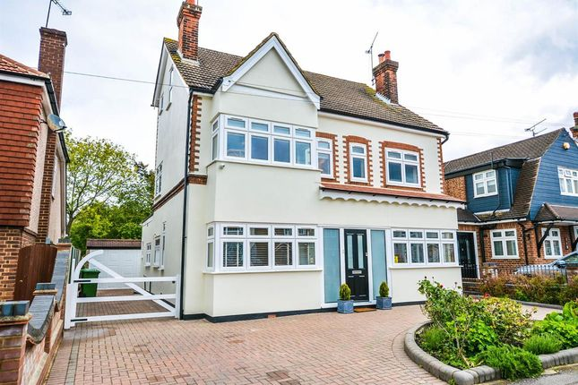 Thumbnail Detached house for sale in Walden Road, Borders Of Emerson Park, Hornchurch