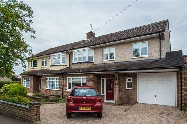 Thumbnail Semi-detached house for sale in Graham Avenue, Broxbourne, Herts