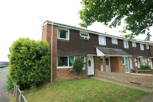 Thumbnail End terrace house for sale in Humber Road, Witham, Essex