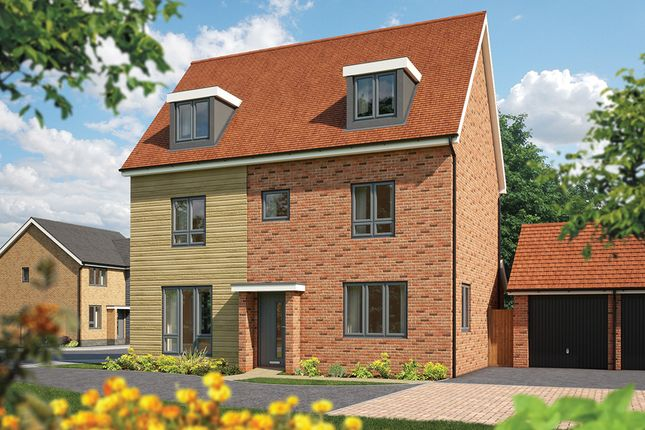 "Thumbnail Detached house for sale in ""The Yew"" at Fields Road, Wootton, Bedford"