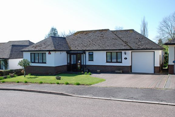 Thumbnail Detached bungalow for sale in Coombe Hayes, Sidford, Sidmouth