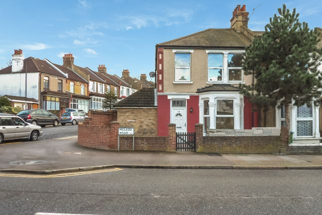Thumbnail End terrace house to rent in Mcleod Road, Abbey Wood