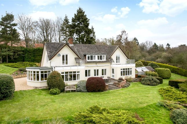 Thumbnail Detached house for sale in Garden Close Lane, Newbury, Berkshire