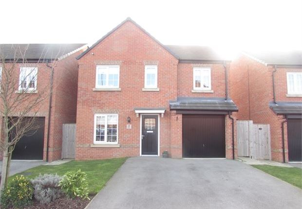 Thumbnail Detached house for sale in Falcon Close, Mexborough, Mexborough