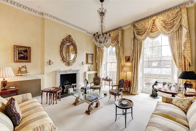 Thumbnail Terraced house for sale in Gloucester Gate, Regent's Park, London