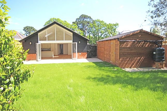 Thumbnail Detached bungalow for sale in Copse Road, Burley, Ringwood