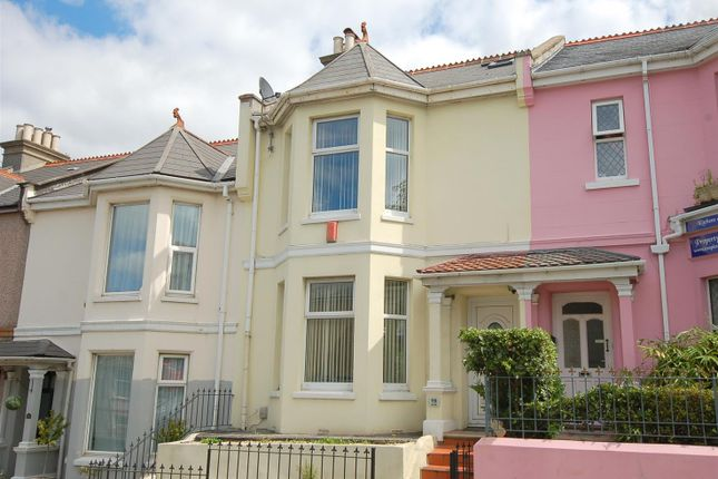 Thumbnail Terraced house for sale in Ford Hill, Plymouth