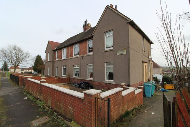 Thumbnail Flat to rent in Springfield Road, Airdrie, North Lanarkshire