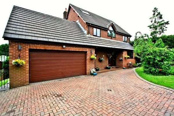 Thumbnail Detached house for sale in Simister Lane, Prestwich, Manchester