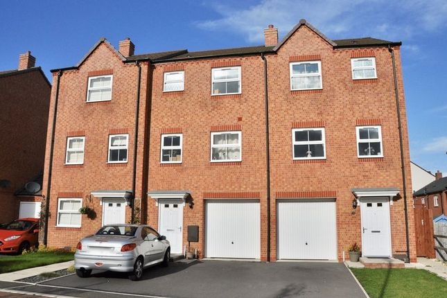 Terraced house for sale in Poppy Close, Evesham