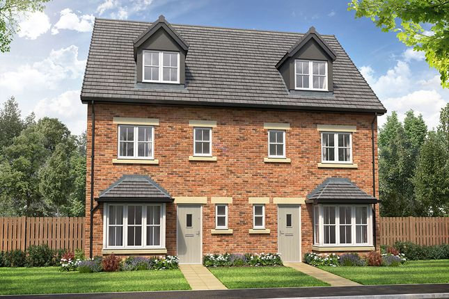 """Thumbnail Town house for sale in """"Emmerson"""" at Finchale, County Durham, Finchale, County Durham"""