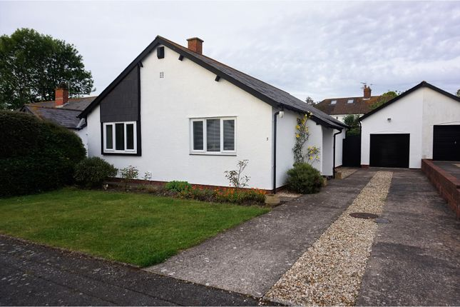 Thumbnail Detached bungalow for sale in Swn Y Mor, Barry
