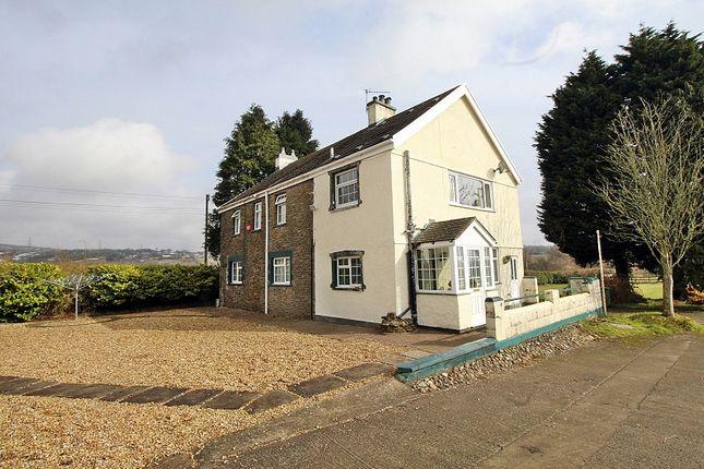 Thumbnail Farmhouse for sale in Llantrisant, Pontyclun, Rhondda, Cynon, Taff.