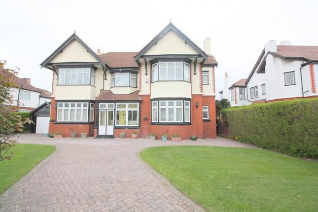 Thumbnail Detached house for sale in Hall Road West, Crosby, Liverpool
