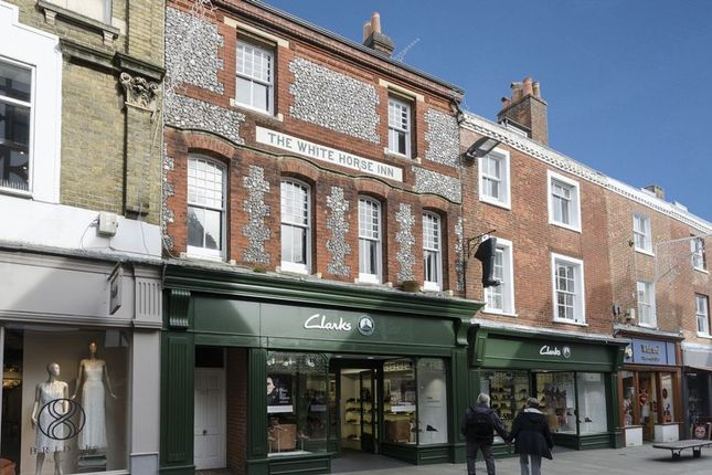 Thumbnail Flat to rent in 113 High Street, Winchester