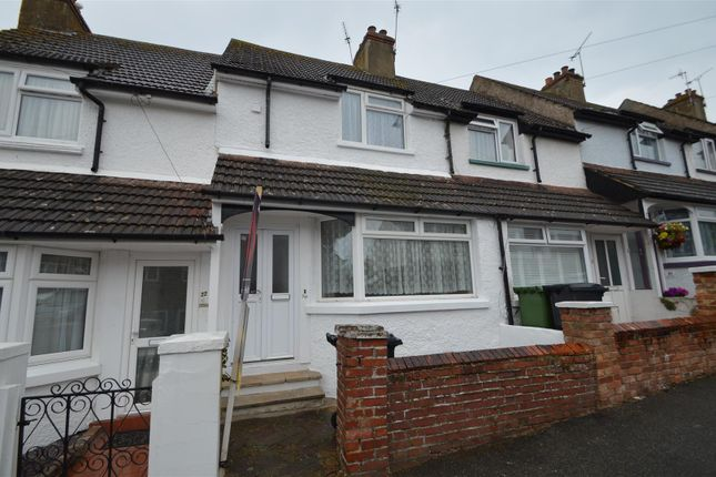 Thumbnail Terraced house for sale in Silvester Road, Bexhill-On-Sea