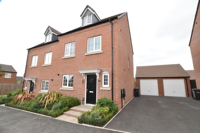 Thumbnail Semi-detached house for sale in Spiers Crescent, Evesham