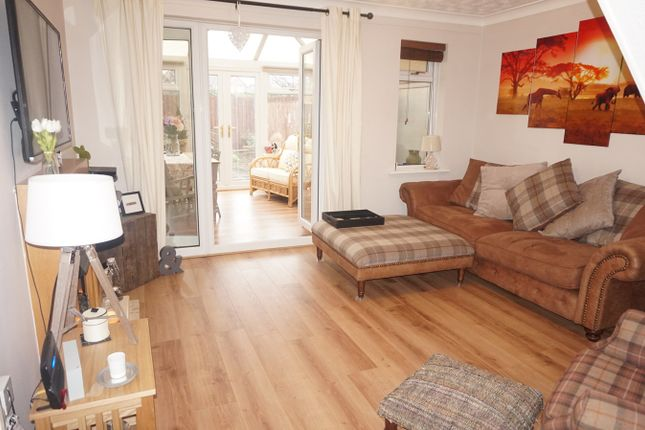 Thumbnail Terraced house for sale in The Newlands, Mardy, Abergavenny