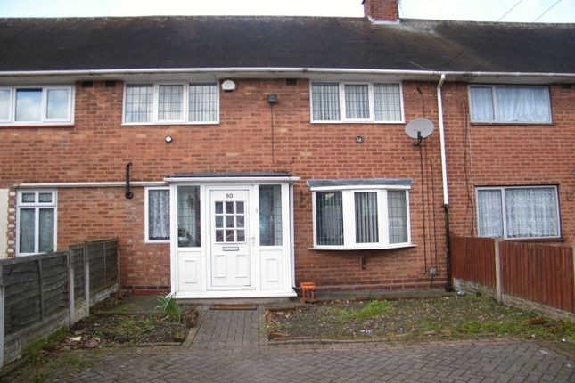 Thumbnail Terraced house for sale in Newbridge Road, Birmingham