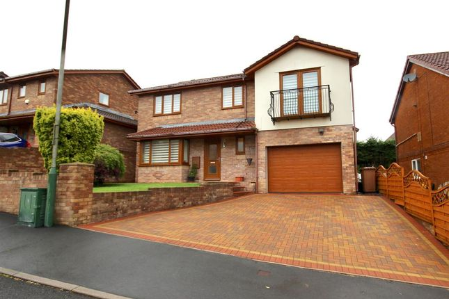 Thumbnail Detached house for sale in Plynlimon Avenue, Croespenmaen, Crumlin, Newport