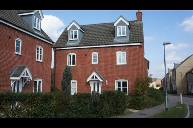 Thumbnail Detached house to rent in Bevington Way, Eynesbury, St. Neots