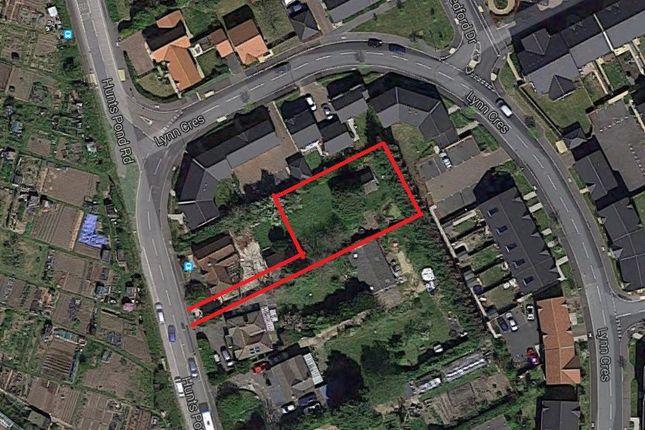 Thumbnail Land for sale in Hunts Pond Road, Fareham