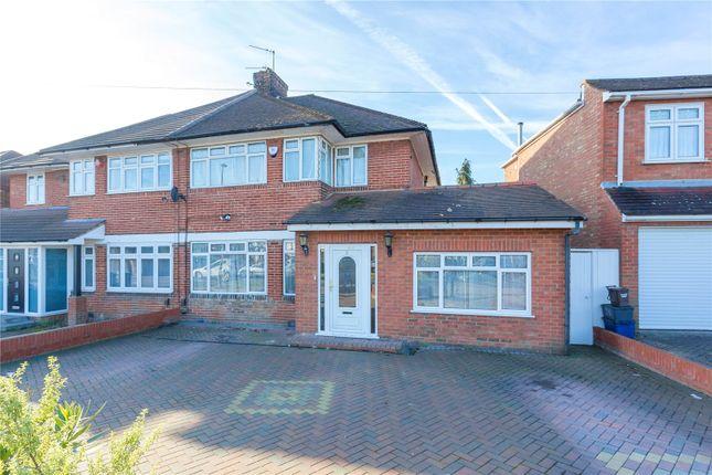 Thumbnail Semi-detached house for sale in Broadfields Avenue, Edgware