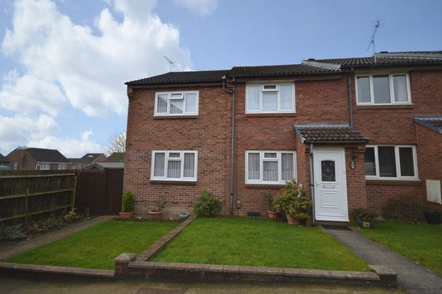 Thumbnail End terrace house for sale in Frampton Close, Eastleaze, Swindon