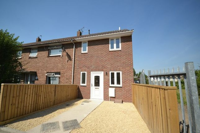 Thumbnail End terrace house for sale in Crome Road, Lockleaze, Bristol