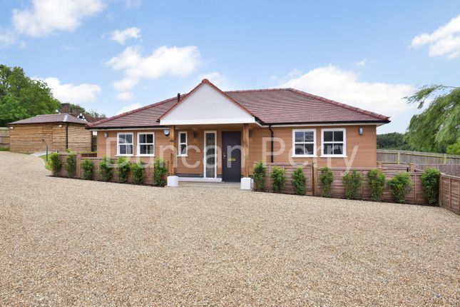 Thumbnail Detached bungalow for sale in Swan Lodge, Bell Bar, Brookmans Park, Herts