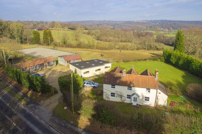 Thumbnail Farmhouse for sale in Old Forge Lane, Horney Common, Uckfield