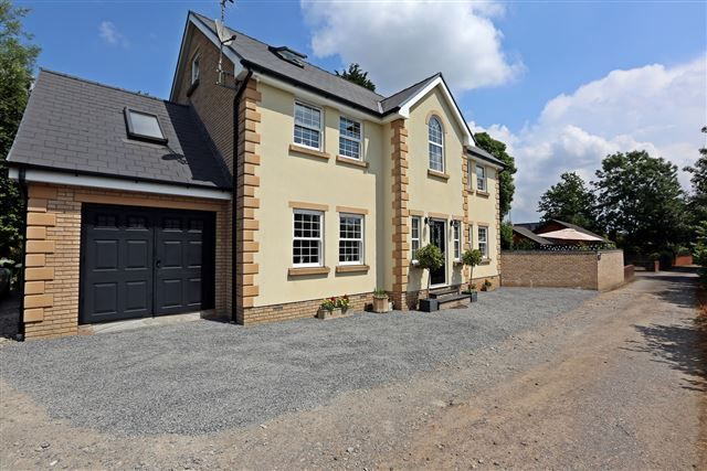 Thumbnail Detached house for sale in Weston Court, Church Village, Pontypridd
