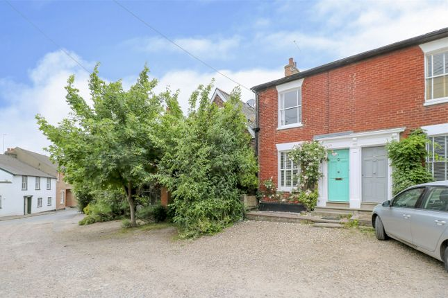 Thumbnail End terrace house for sale in Anglesea Road, Wivenhoe, Colchester, Essex