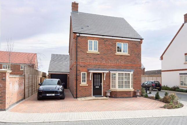 Thumbnail Detached house for sale in Mobbs Close, Olney, Buckinghamshire