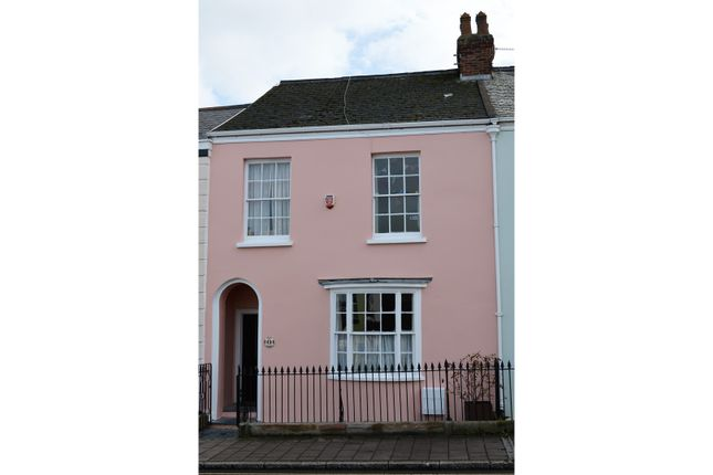 Thumbnail Terraced house for sale in South Street, Barnstaple