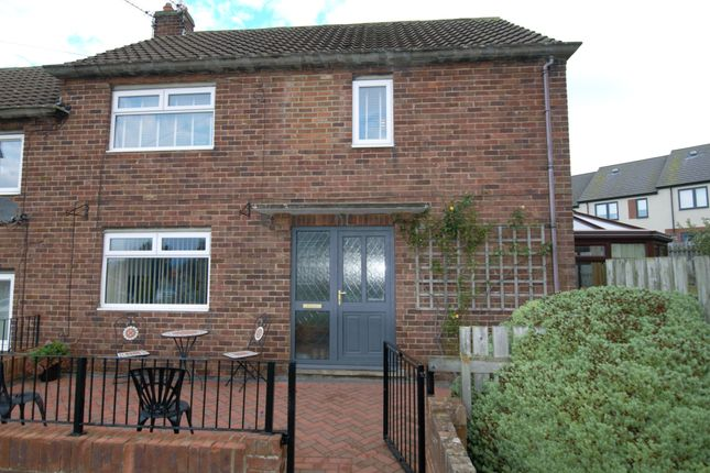 Thumbnail Semi-detached house for sale in Larpool Crescent, Whitby
