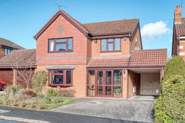 Thumbnail Detached house for sale in Waresley Park, Hartlebury, Kidderminster