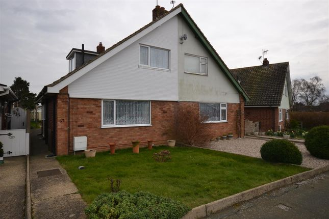 Thumbnail Semi-detached house to rent in Carisbrooke Avenue, Clacton-On-Sea