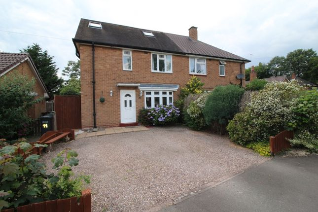 Thumbnail Semi-detached house to rent in Broomfields Close, Solihull, West Midlands