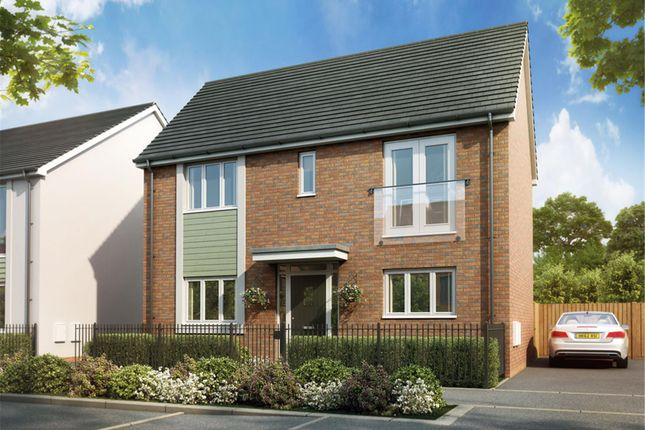Thumbnail Detached house for sale in Plot 175 The Webster, Glan Llyn, Llanwern, Newport